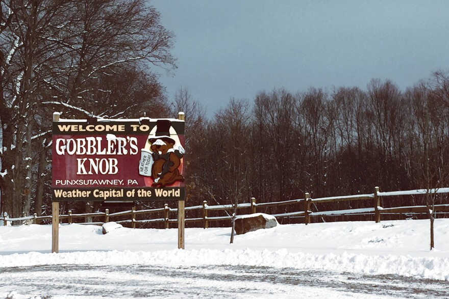 Gobbler's Knob, a clearing outside Punxsutawney, Pa., is the site of the annual Feb. 2 event, where Phil the groundhog predicts whether there will be an early spring or six more weeks of winter.