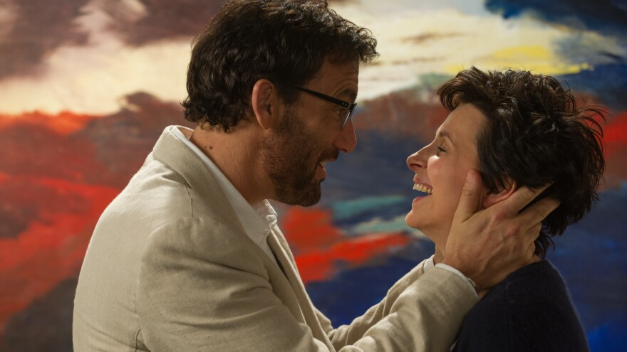 Clive Owen and Juliette Binoche do their best in the watery <em>Words And Pictures</em>.