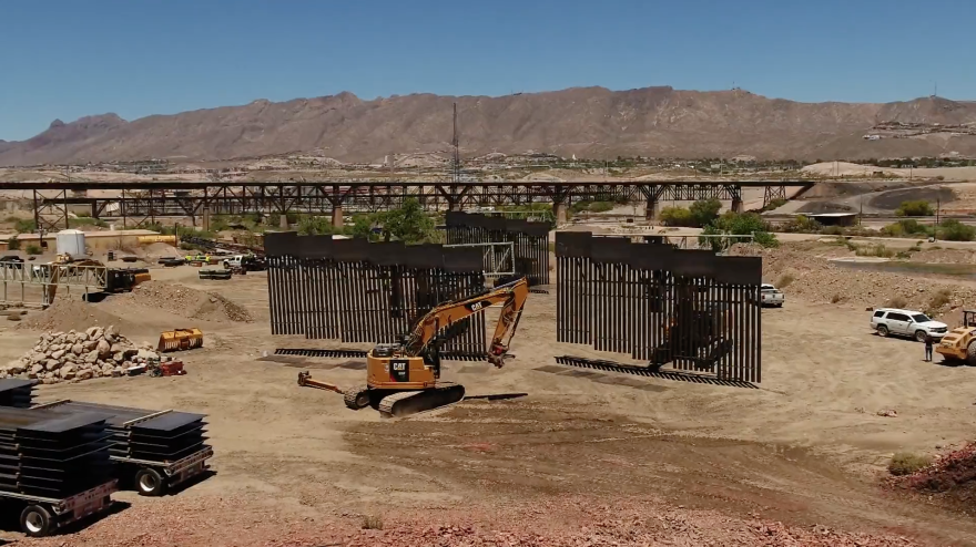 Screenshot of a video posted by WeBuildTheWall Inc.