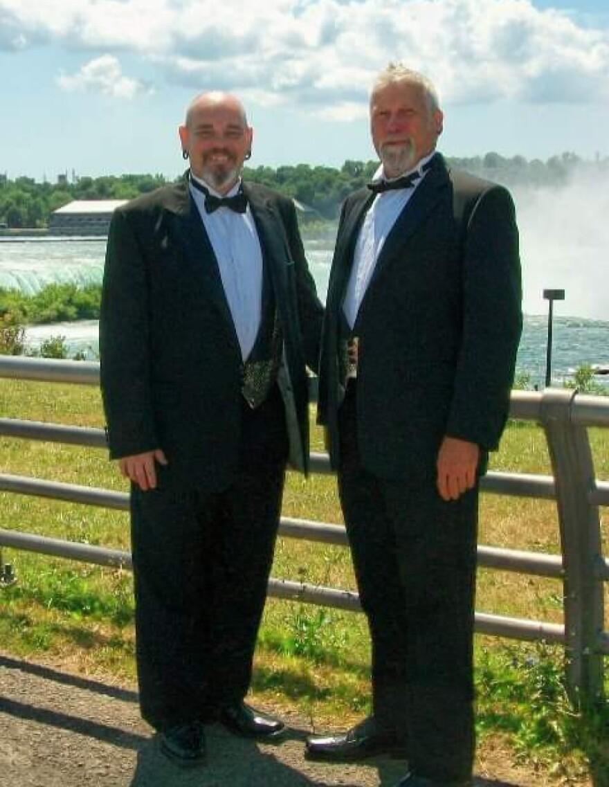Scott Didier (left) and John Gantt