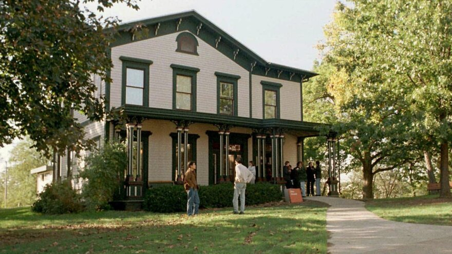 The Dey House, a 140-year-old mansion, is home to the University of Iowa Writers' Workshop, one of the oldest MFA writing programs in the country. Director Lan Samantha Chang — who attended the workshop as a student — has made it a priority to attract students and faculty from diverse backgrounds to the program.