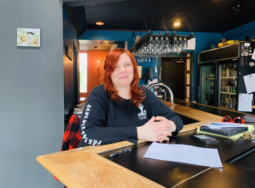 Emily Mendenhall and her family employ more than 50 people at two restaurants in Dayton.