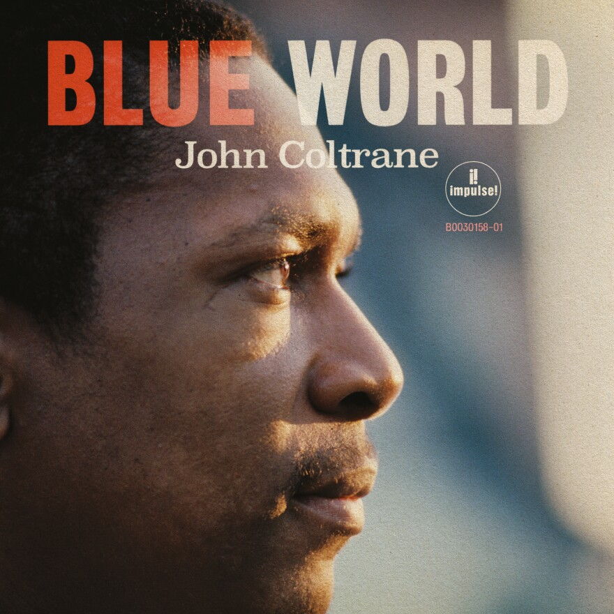 Cover art for John Coltrane's Blue World.