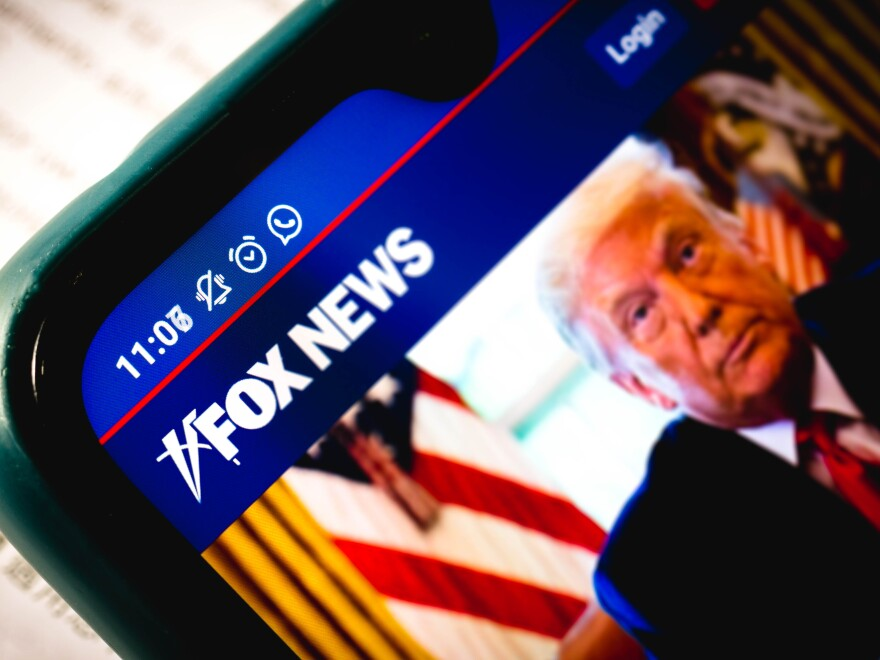 """Fox News wants a judge to throw out Smartmatic's defamation lawsuit against the news network. Fox claims that it was covering """"both sides"""" of the story of the 2020 elections and former President Trump's debunked claims that the election was rigged."""