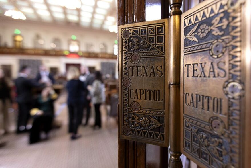 Interior of the Texas Capitol