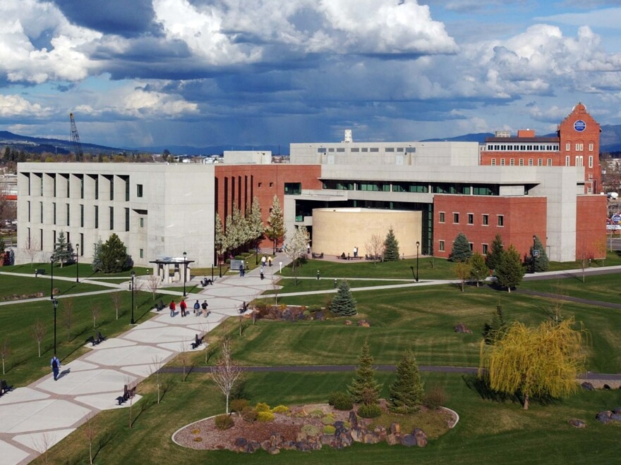"""The campus of Washington State University, Spokane. WSU, which has its main campus in Pullman, Wash., is one of 800 colleges and universities that have """"test-optional"""" admissions policies."""