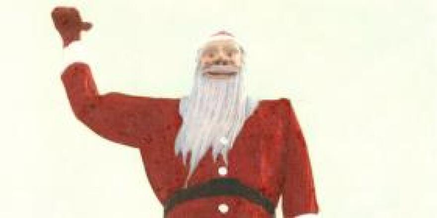 Before he was Big Tex, he was Santa Claus in Kerens.