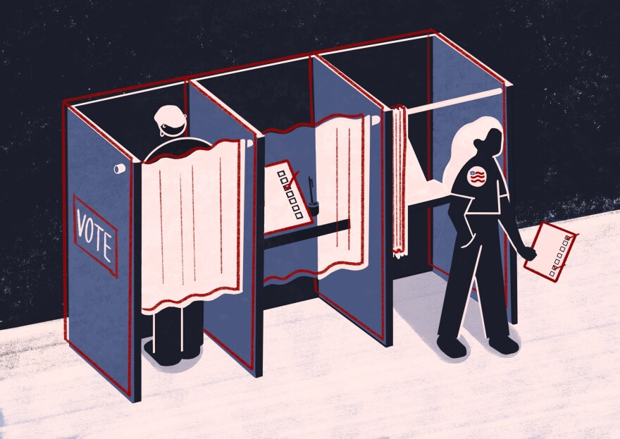 Voting election illustration