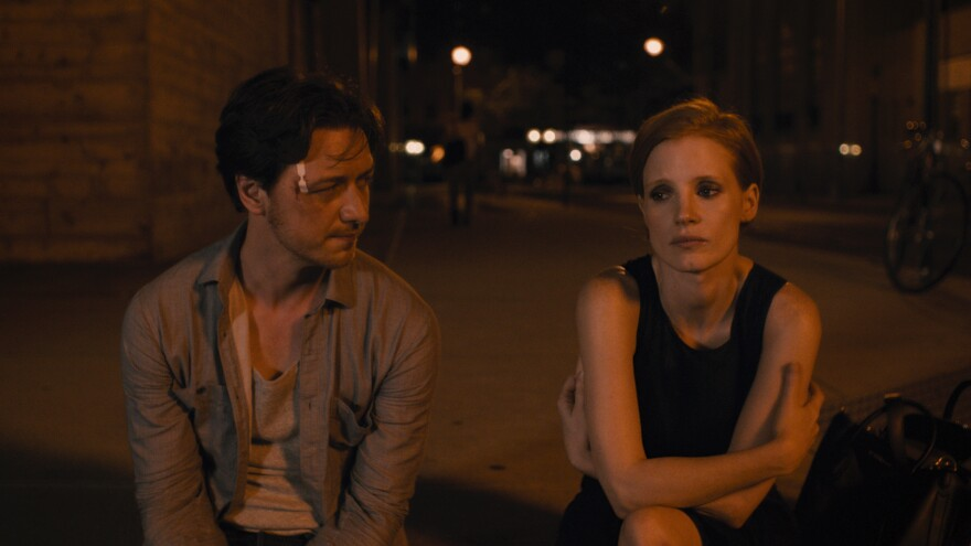 James McAvoy and Jessica Chastain star in <em>The Disappearance of Eleanor Rigby Him, Her</em> and <em>Them.</em>
