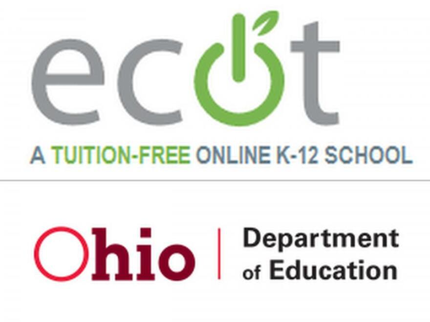 photo of ECOT and Ohio Department of Education logos