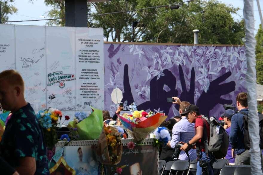 The Orlando community marked three years since the Pulse nightclub shooting.