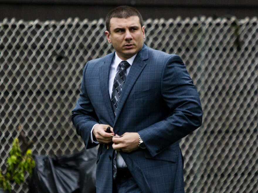 At a disciplinary trial, New York City police Officer Daniel Pantaleo was found guilty of using a banned chokehold in the July 2014 death of Eric Garner.