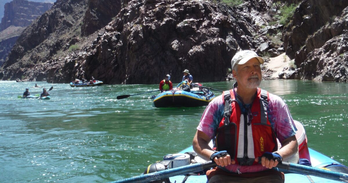 From A Raft In The Grand Canyon, The West's Shifting Water Woes Come Into View