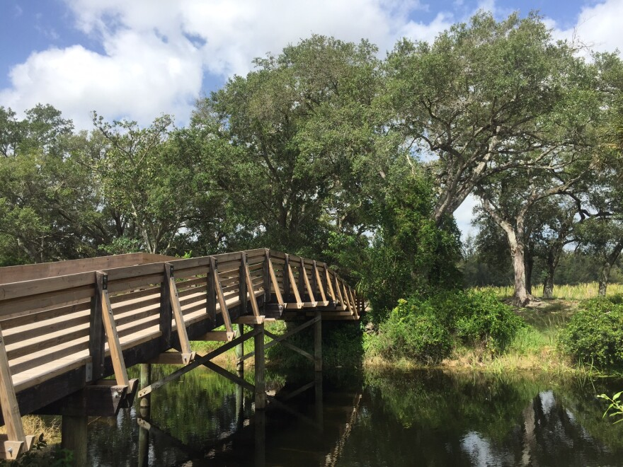 Tree Tops Park in Davie, Broward County. Many Parks Rx patients get their dose of nature here