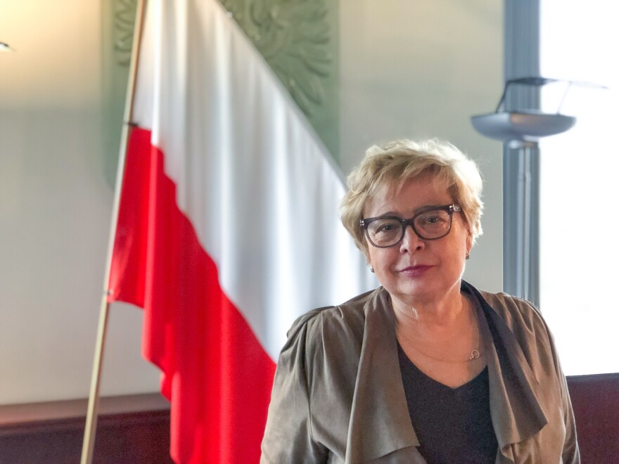 Małgorzata Gersdorf is First President of Poland's Supreme Court. She says the ruling party's overhaul of Poland's judicial system represents a clear assault on her country's democratic system of checks and balances, and she says the EU has been too slow to react.