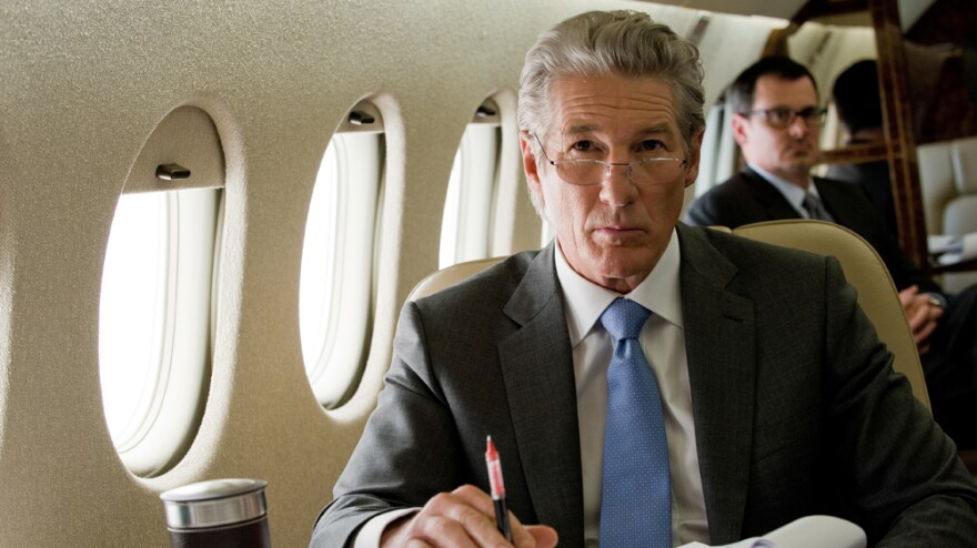 Richard Gere plays Robert Miller, whose carefully constructed life threatens to come crashing down in <em>Arbitrage</em>.