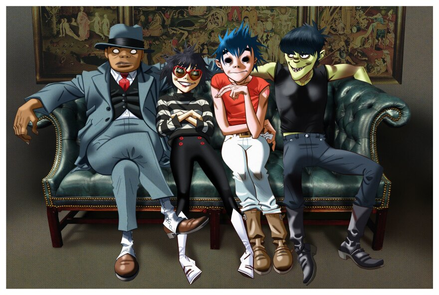 Gorillaz latest album, <em>Humanz</em>, is out April 28.