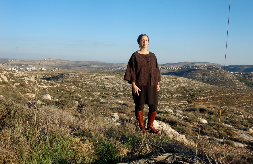 In the hills of the West Bank — which she calls Judea and Samaria — Tamar Asraf feels truly at home. It's an enormous change for an Israeli who grew up believing the best way to protect Israel was to give up the West Bank in exchange for peace with the Palestinians. One thing led to another in a search for meaning — and she found herself here.
