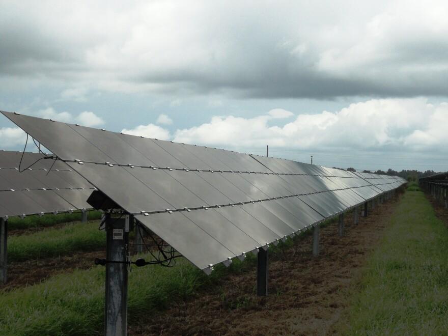Lake Hancock solar facility