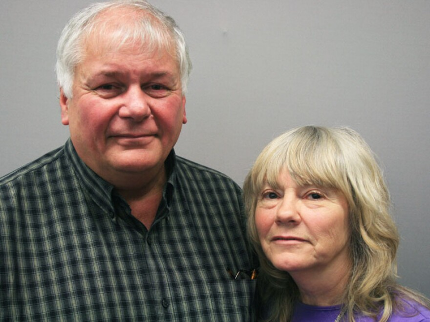 Kevin and Joyce Lucey remembered their son, Jeff, in an interview with StoryCorps in Wellesley, Mass. Jeff, a U.S. Marine, took his own life months after returning from a deployment in Iraq.