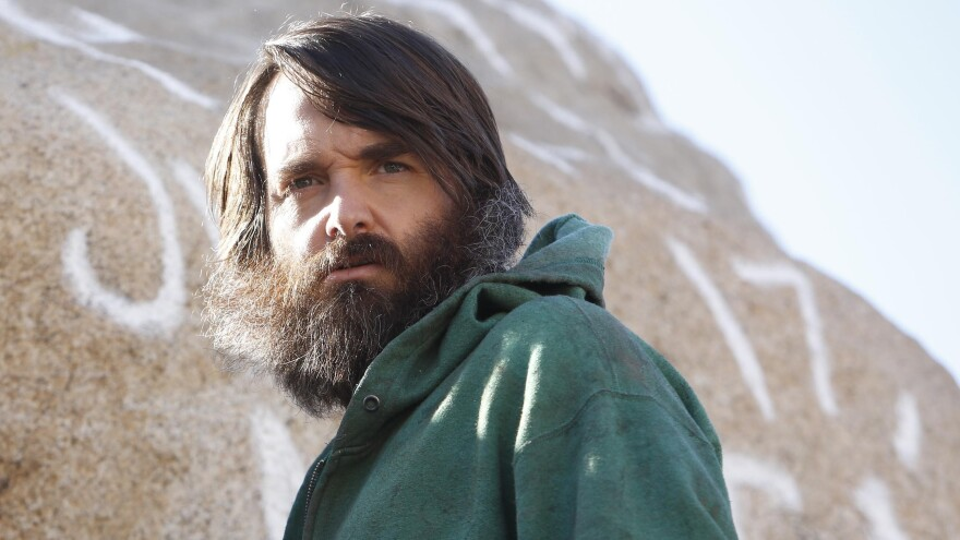 <strong>A man and his beard:</strong> Will Forte plays a man seeking companionship in a world wasted by disease in <em>The Last Man on Earth.</em>