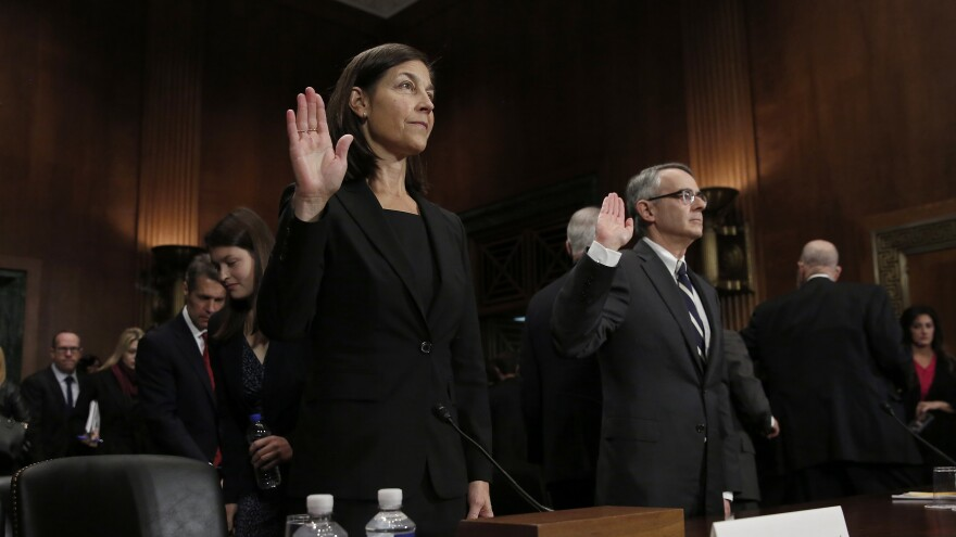 Judicial nominees Karin J. Immergut and Richard A. Hertling also were the subject of sparsely attended hearings of the Senate Judiciary Committee this week.