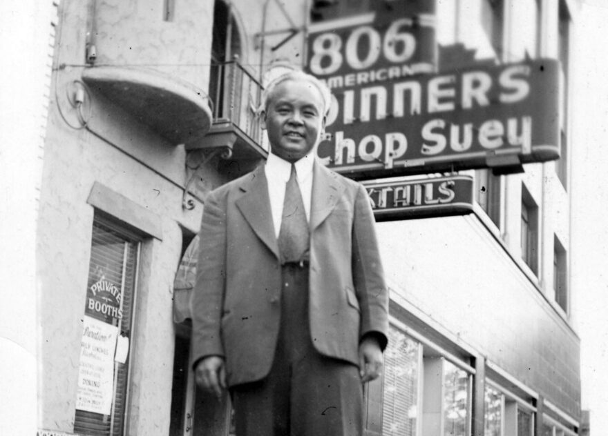 Jerry Fat's father and founder of their restaurants, Frank Fat. (Courtesy)