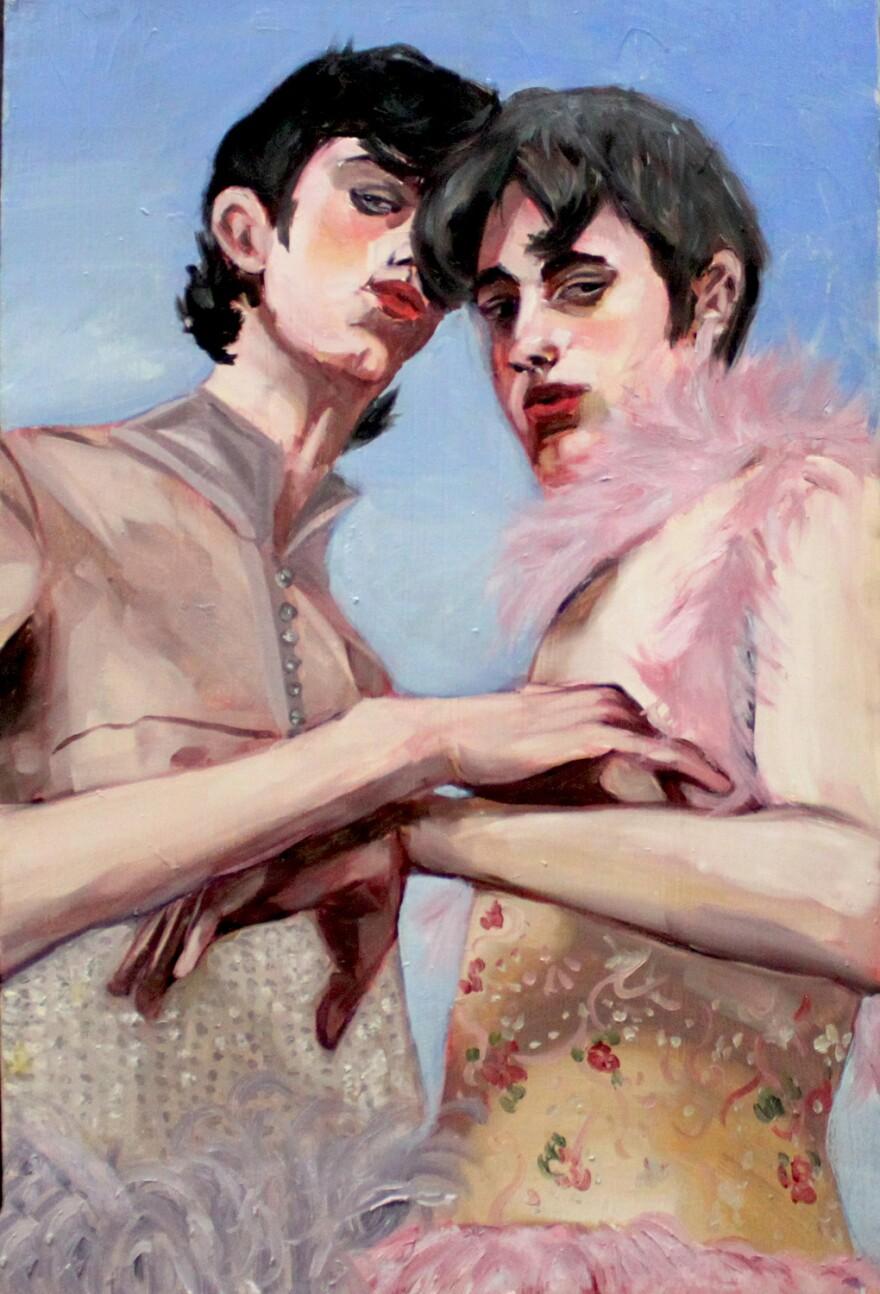 """""""Los Pajaritos,"""" by Juniel Solis."""