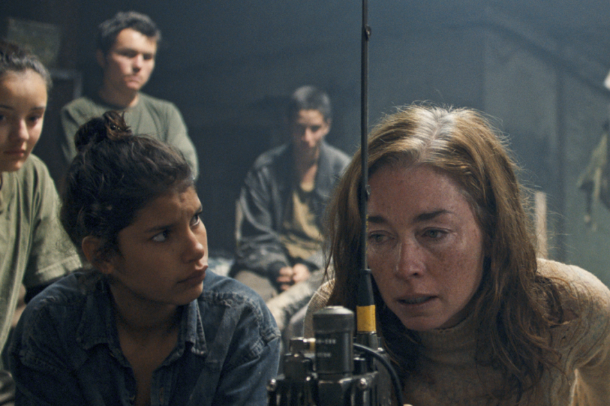 In <em>Monos, </em>director Alejandro Landes dives deep into the jungles of Latin America following a band of teenage commandos watching over an American hostage.
