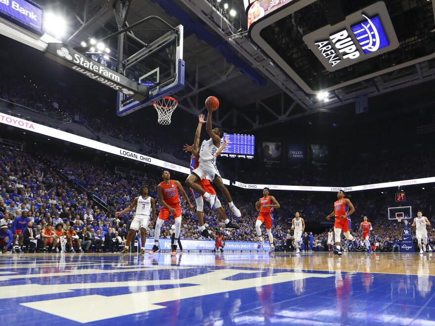 The Kentucky Wildcats have dominated the competition playing at Rupp Arena, named after U.K.'s most famous coach: Adolph Rupp. Now the campus is debating whether that name should be changed.