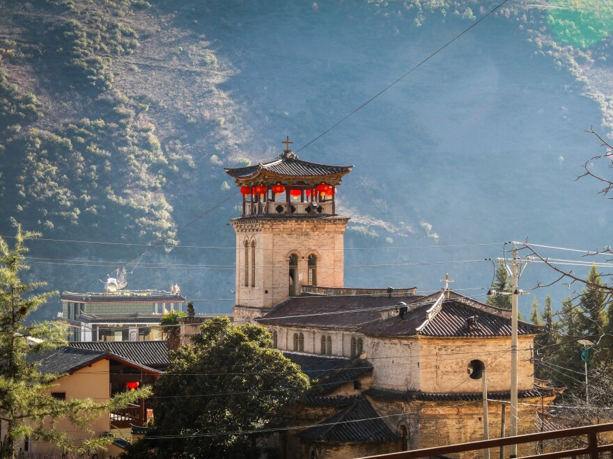 For the past 150 years, Cizhong Church in southwestern Yunnan province has been home to one of China' rare Catholic communities.