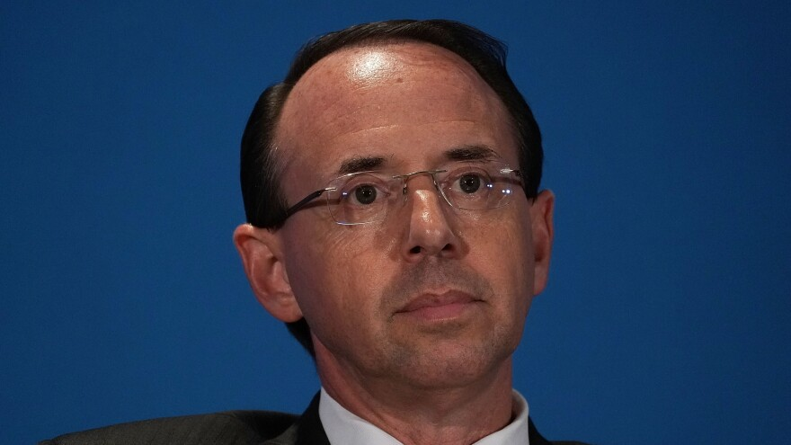 Deputy Attorney General Rod Rosenstein is scheduled to conduct a long-delayed visit to Capitol Hill on Wednesday.