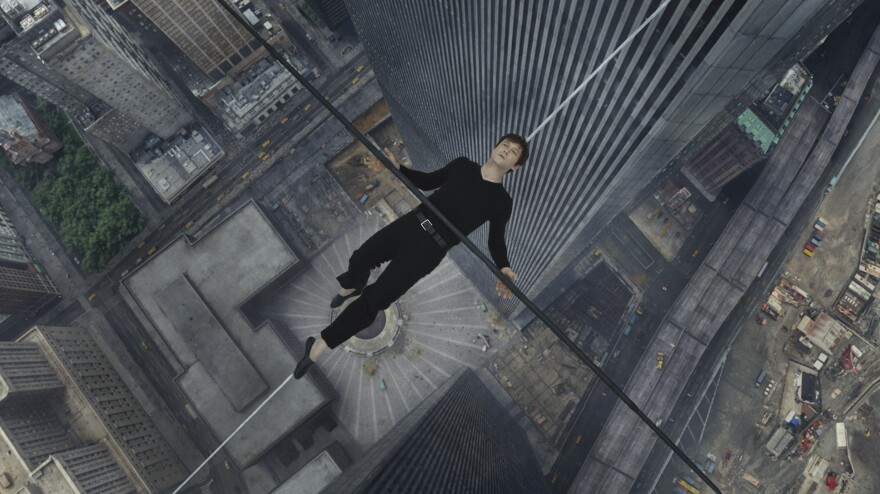 <em>The Walk</em> dramatizes the French high-wire artist Philippe Petit's (Joseph Gordon-Levitt) 1974 walk between the Twin Towers of the World Trade Center.