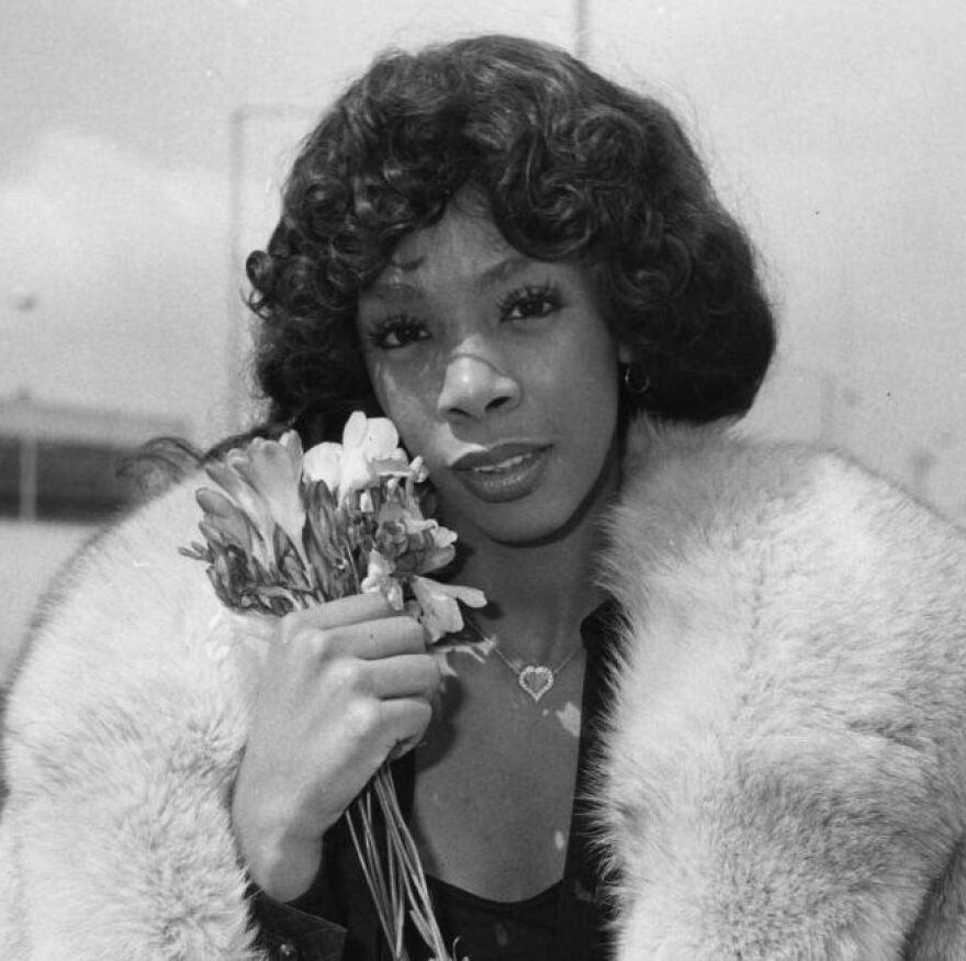 Donna Summer, pictured above in 1976, died Thursday at age 63. She had cancer.