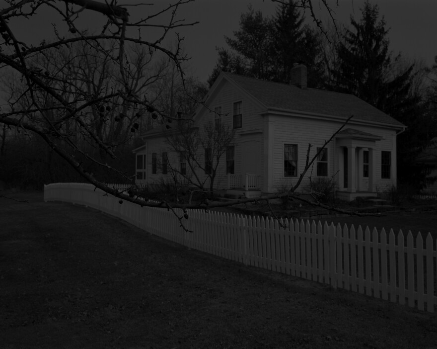 "<em>Untitled #20 (Farmhouse and Picket Fence I),</em> from the series ""Night Coming Tenderly, Black,"" 2017, San Francisco Museum of Modern Art, Accessions Committee Fund purchase"