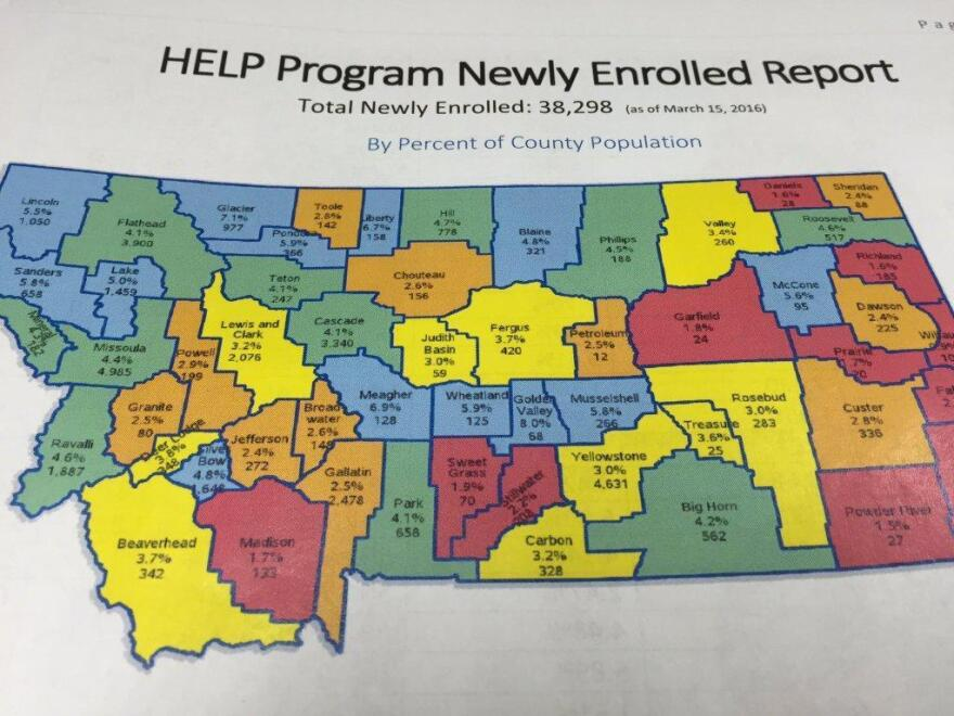 HELP Program Newly Enrolled Report.