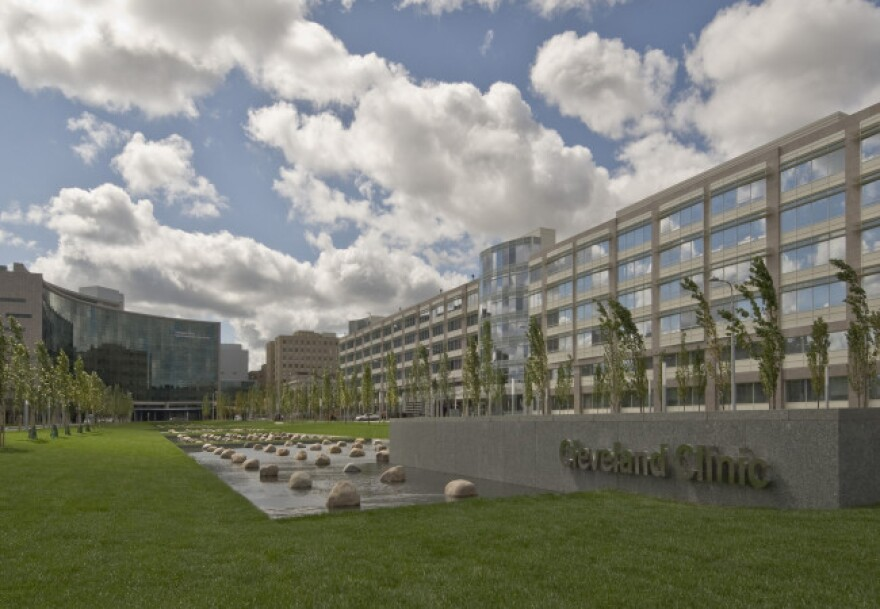 Photo of the Cleveland Clinic's Miller Family Pavillion