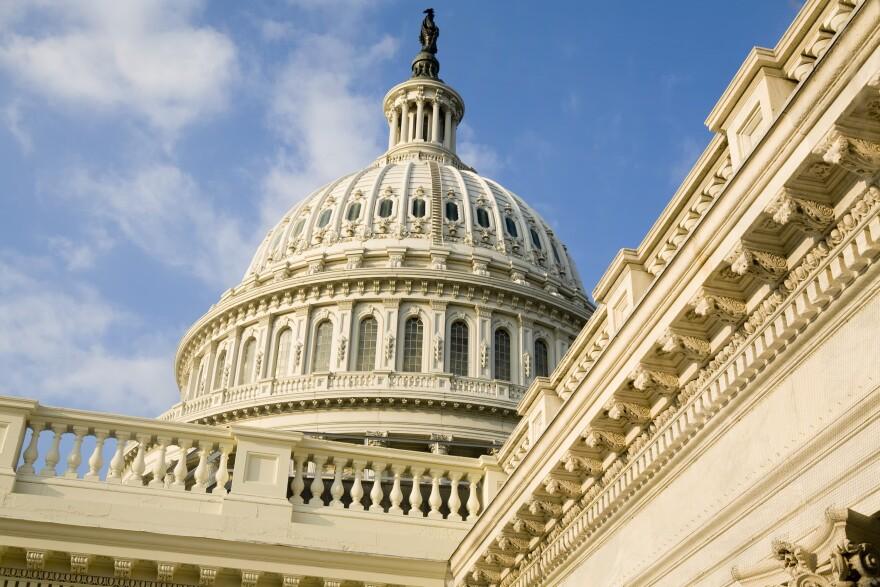The U.S. Capitol. (Brendan Hoffman/Getty Images)
