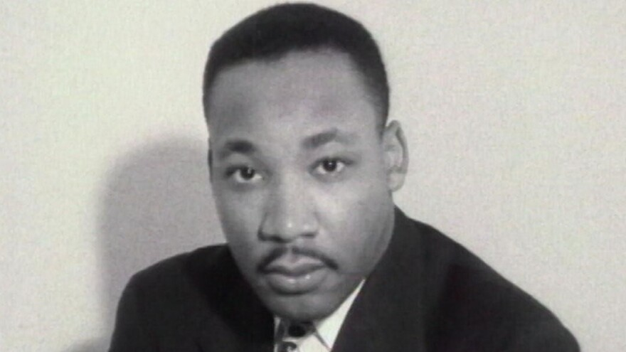 "Martin Luther King Jr. was a man who had a ""tremendous amount of burdens he had to deal with, both politically, socially and personally,"" says <em>MLK/FBI</em> director Sam Pollard."