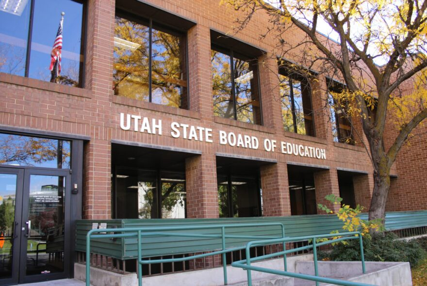Photos of Utah State Board of Education building