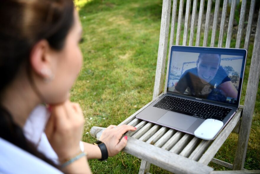 Have you been reaching out to people more via video chat?
