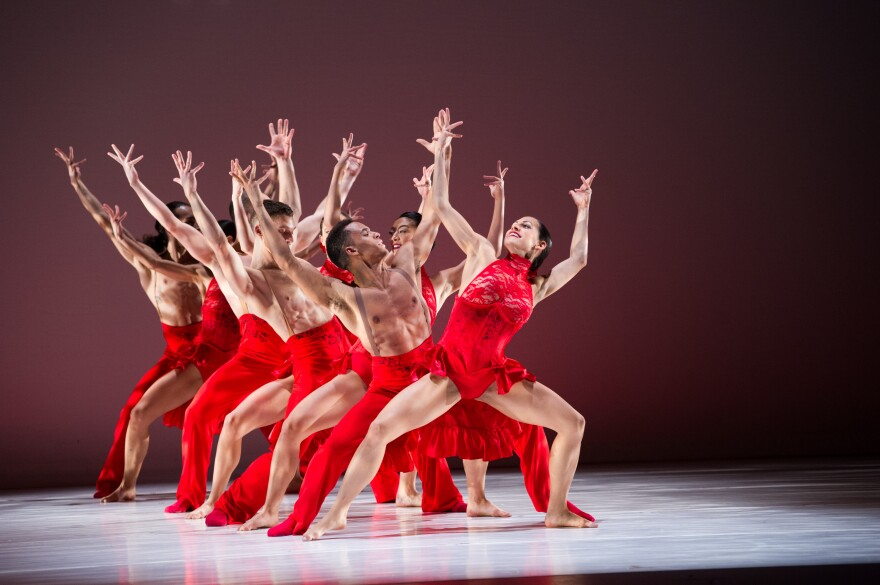 Ballet Hispánico celebrates its 50th anniversary this year. It was founded in 1970 by Tina Ramirez.