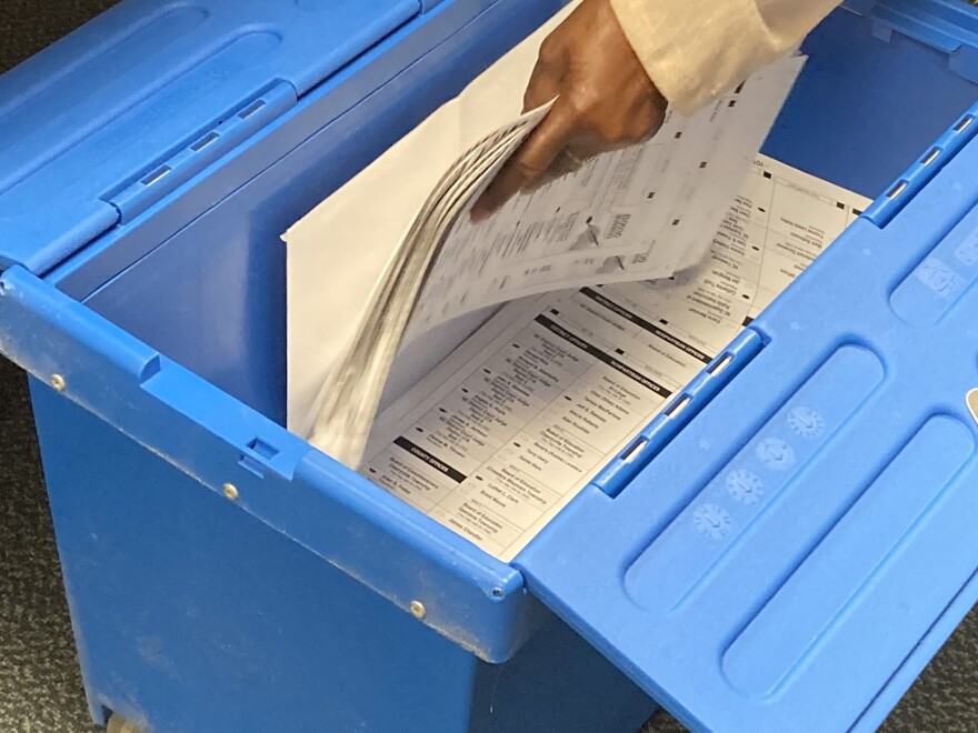 Gaston County sample hand count audit