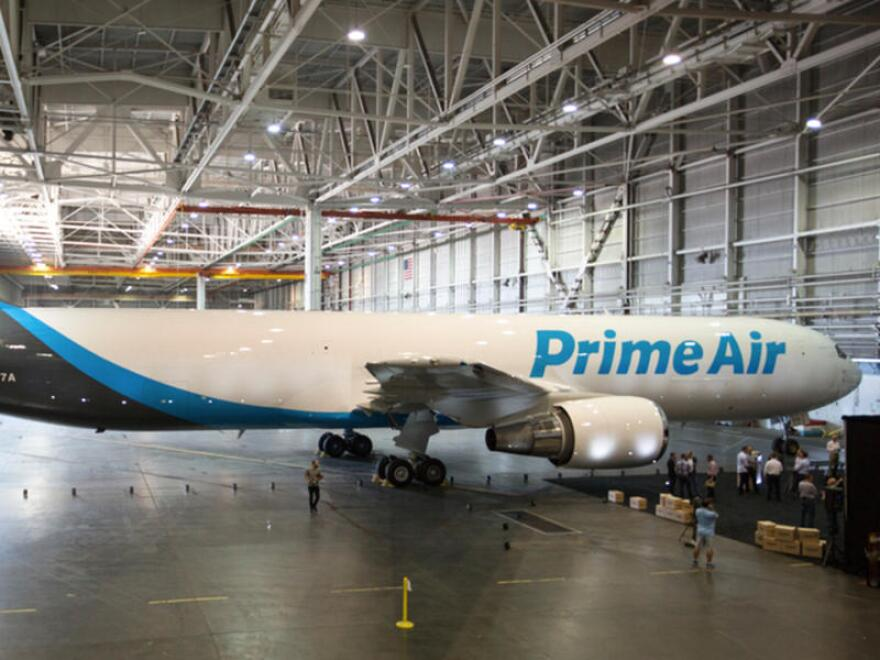 Wilmington Air Park is the latest airport to welcome Amazon. Operations will start next year.