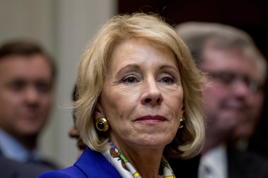 U.S. Education Secretary Betsy DeVos