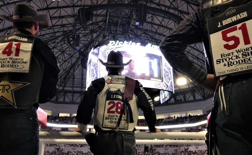 inside the Fort Worth stock show