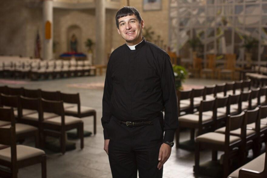 Father Charlie Garza