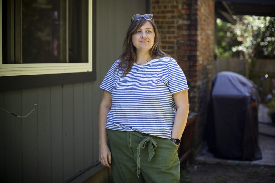 Samantha White says journaling during the coronavirus pandemic started off cathartic, but now may be making her more anxious.