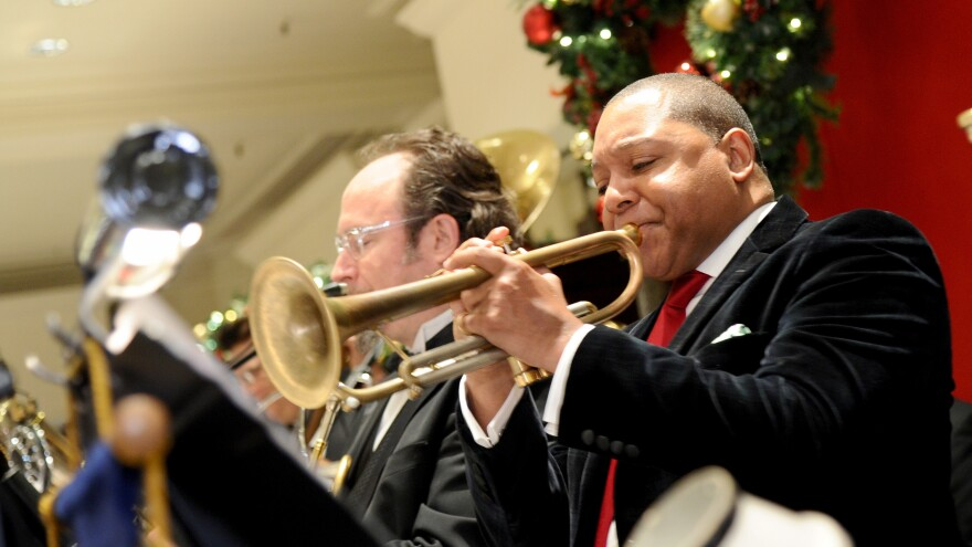 "Trumpeter Wynton Marsalis' version of ""We Three Kings"" goes on Christian McBride's holiday playlist."