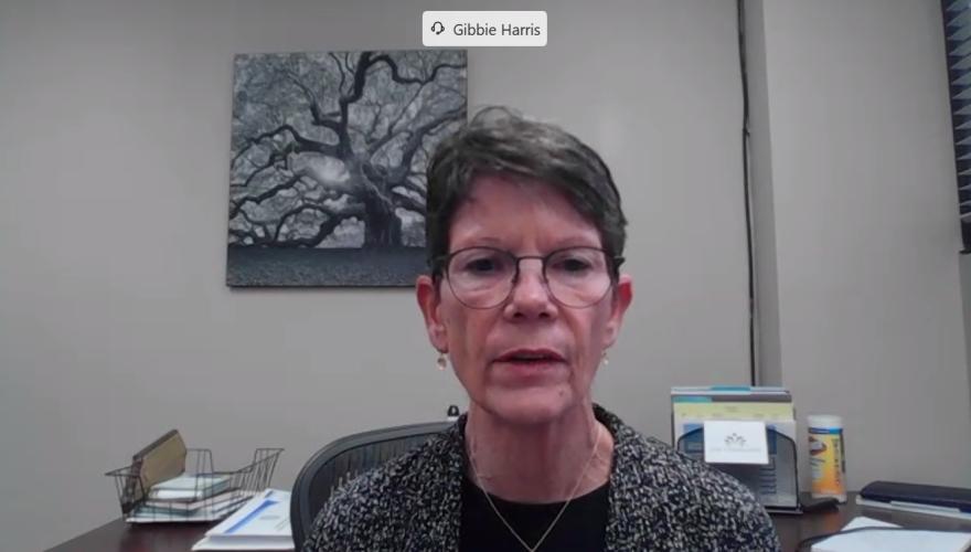 Mecklenburg County Public Health Director Gibbie Harris